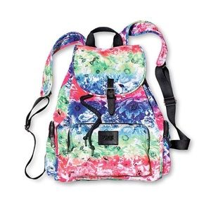 Victoria's Secret PINK Floral Rainbow Backpack